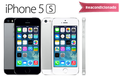 iPhone 5S 16 GB - 2 colores a elegir -  Clase A