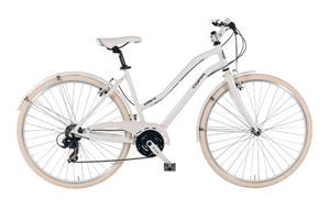 "Bicicleta urbana 28"" Touring  Aluminio - Shimano TX35/STEF 51-21v"