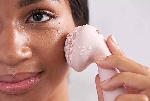 Limpiador Facial Eléctrico de Silicona