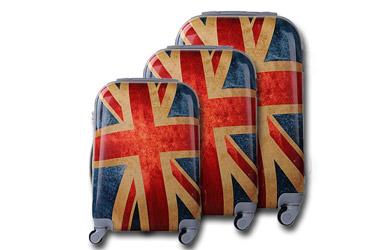 Juego de 3 maletas Fashion British