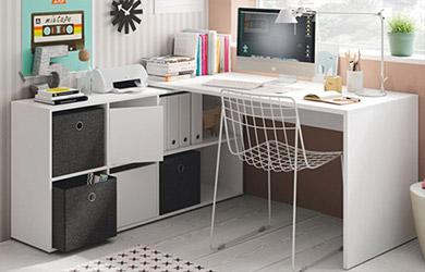 Mesa escritorio XL 4 colores a elegir