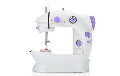 Máquina de coser compacta, ligera y portátil