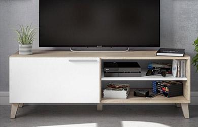 Mesa de TV con 1 puerta