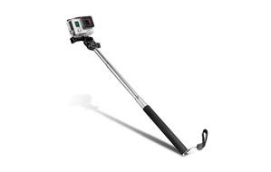Monopié Extensor con Adaptador para Trípode para GoPro y cámaras