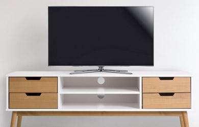 Mueble TV  1 puerta y 2 cajones