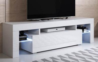 Mueble TV (160x45cm) con LED RGB