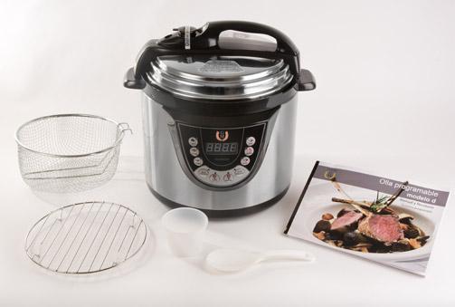 Olla GM: Robot de cocina que cocina por ti