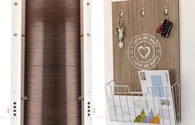 """Cuadro organizador de pared """"I love my home"""""""
