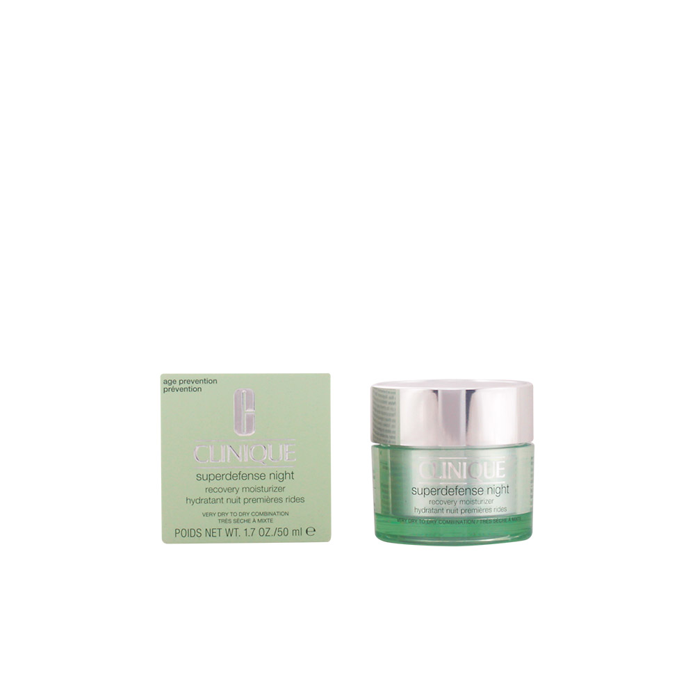 CLINIQUE SUPERDEFENSE NIGHT recovery moisturizer PNS 50 ml