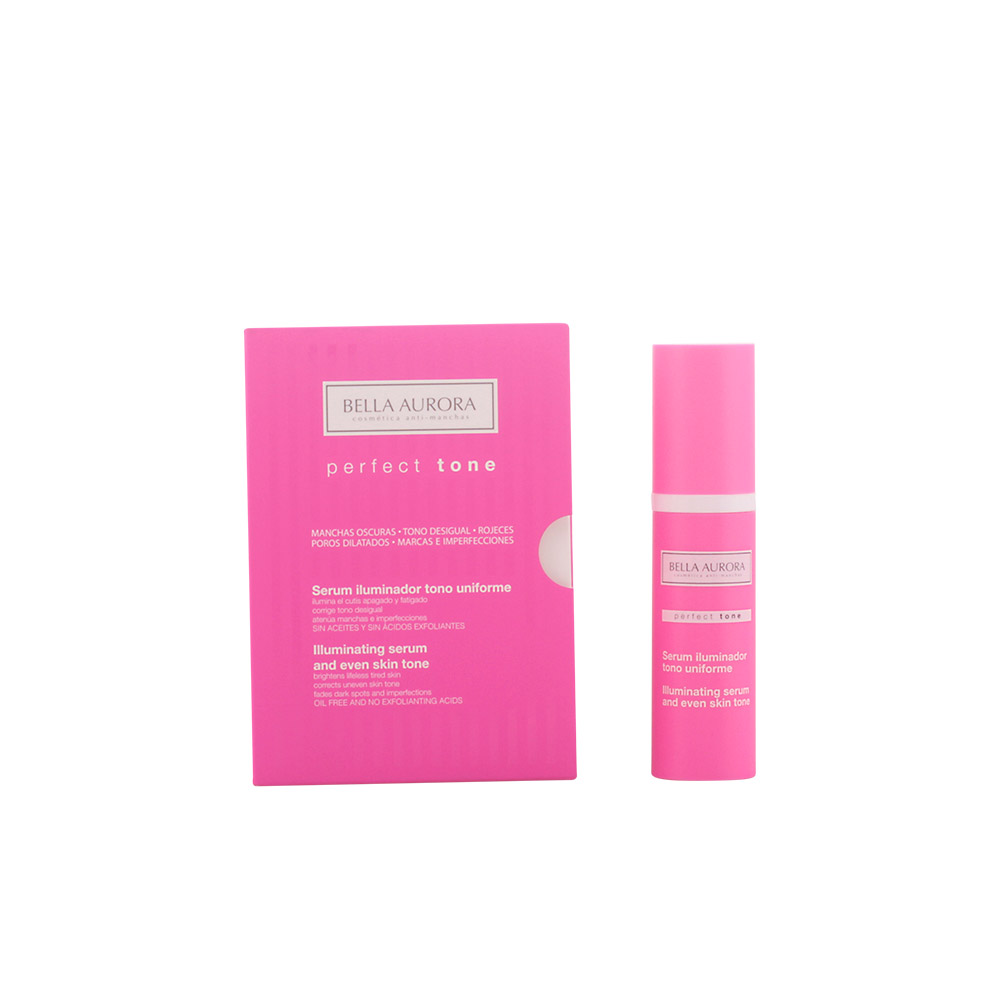 Bella Aurora PERFECT TONE serum iluminador uniforme anti-manchas
