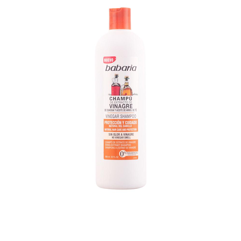 Babaria VINAGRE champú protección natural cabello 600 ml