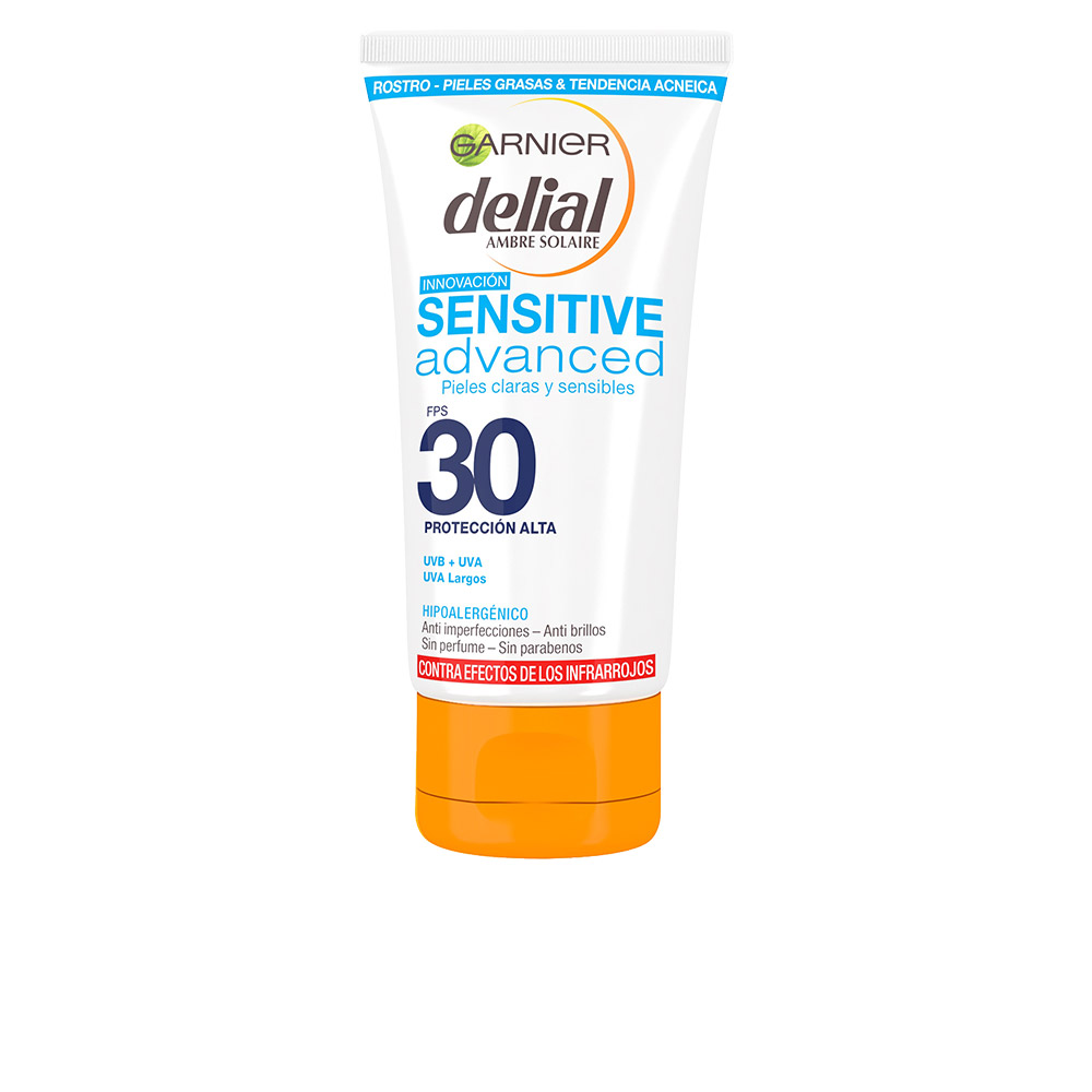 Delial SENSITIVE ADVANCED ANTI-ACNE crema facial SPF30 50 ml