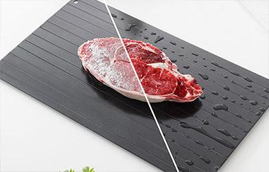 Placa de descongelación rápida de alimentos