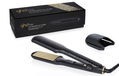 GHD V Gold Max  - Plancha para el cabello, voltaje universal