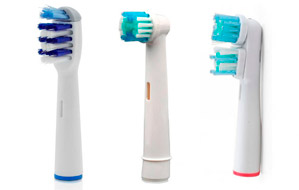 Packs de recambios para cepillos electricos compatibles con Oral