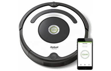 Robot aspirador iRobot Roomba con conexión WIFI