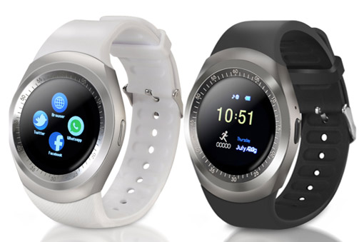 Elegante SmartWatch en color blanco o negro