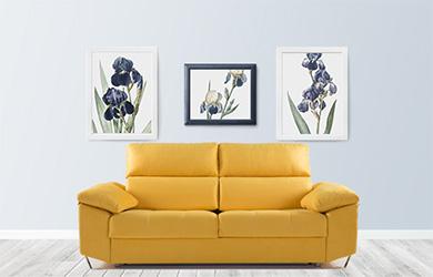 Sofá cama Euria con 4 medidas direrentes y varios colores a elegi
