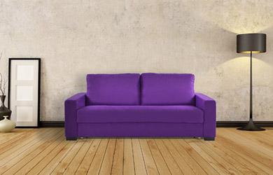 Sofá cama Elurra de apertura italiana con varios colores a elegir