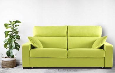 Sofá cama Beroa de apertura italiana con vari@s medidas y colores