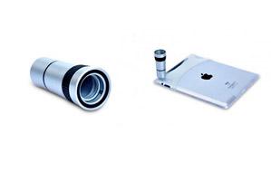 Teleobjetivo para iPad 2, 3 y 4