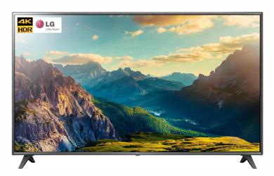 """Smart TV LG 43"""" 4K ULTRA HD color negro"""