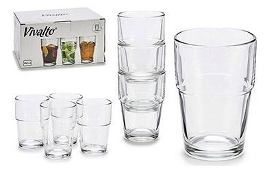 Pack de 12 Vasos Cristal 25 cl