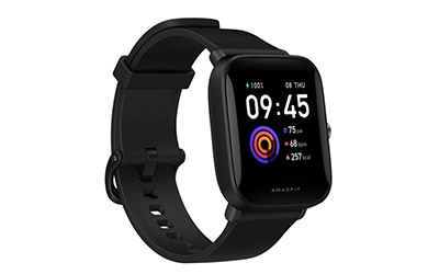 Reloj inteligente Xiaomi Amazfit Bip U, color Negro