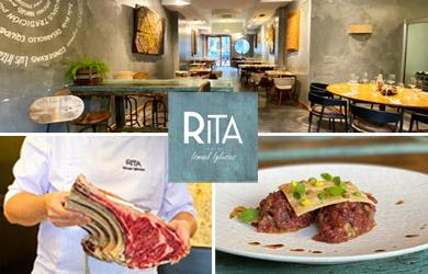 Menú buey en el Restaurante Rita