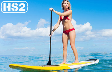 Bautismo de Stand Up Paddle Surf en Hondarribia