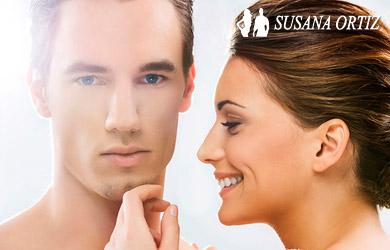 Tratamiento facial rejuvenecedor con mascara de luz led