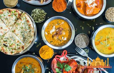 Menú especial en el Restaurante Tandoori Mashala