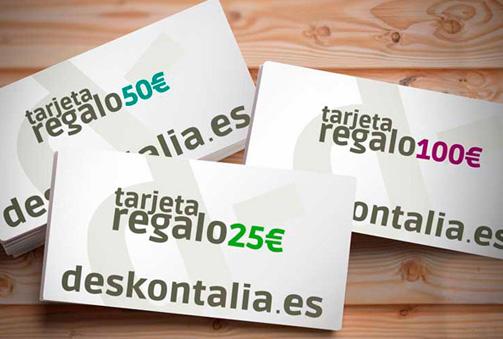tarjeta regalo deskontalia 25€