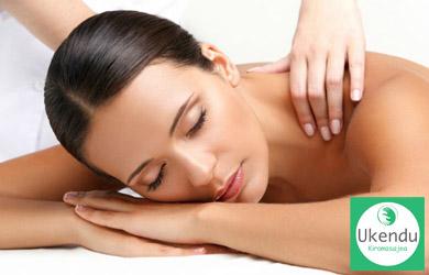 Masaje relajante de espaldas y piernas de 50 min