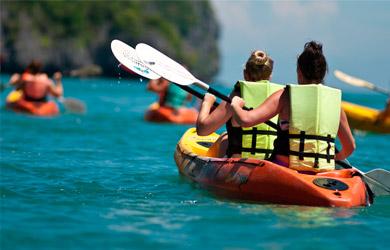 Travesía en kayak por la Reserva de Urdaibai