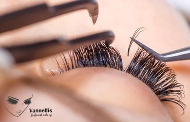 Extensión de pestañas pelo a pelo efecto rimel