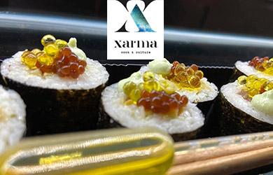 Menú degustación Xarma Cook & Culture