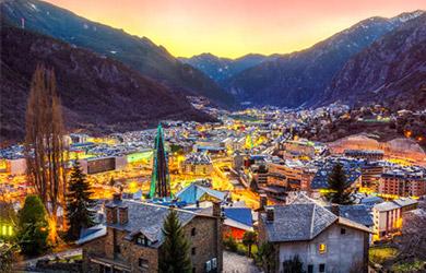 Viaje de 3/4/5/6/8 días en Andorra la Vella, hotel 3*, alojamient