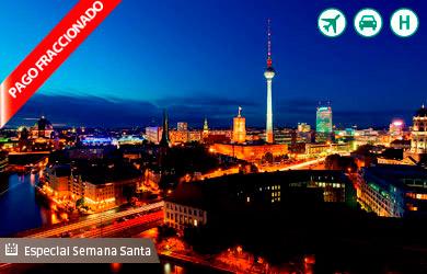Viaje a Berlín con vuelo directo especial desde Bilbao, estancia