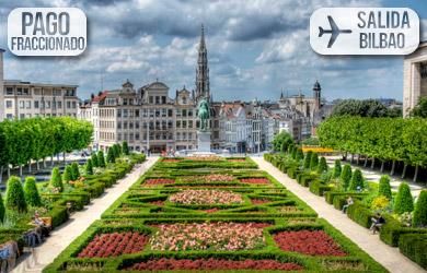 Viaje de 4 días con vuelo directo desde Bilbao, hotel 4* con desa