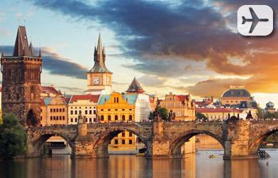 Viaje de 6 días a Praga y Budapest en hotel con desayuno, billete