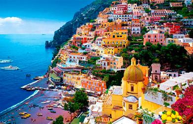 Viaje de 9 días a la Costa Amalfitana en Ferry y alojamiento en a