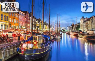 Viaje de 9 días a los Fiordos y Copenhague, vuelos desde Barcelon