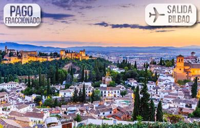 Viaje de 4 o 5 días con vuelos directos desde Bilbao, hotel 3* co