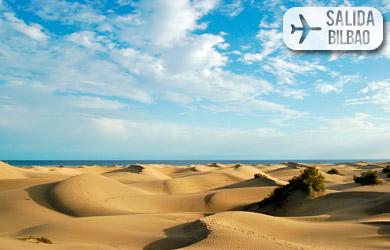 Viaje de 8 días con vuelos desde Bilbao con hotel 3* en media pen
