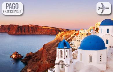 Viaje de 8 días a Grecia con crucero de 5 días, vuelos de Madrid,