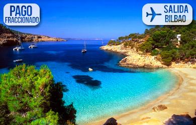 Viaje de 8 días a Ibiza con vuelos desde Bilbao y equipaje de man