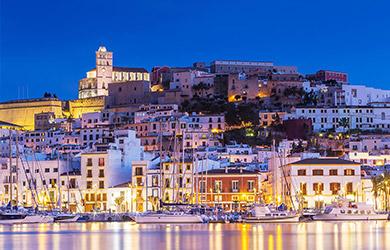 Estancia de 7 ncohes en Ibiza