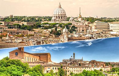 Circuito de 10  días por la Italia Clásica