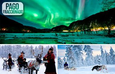 Viaje de 5 días en Laponia con actividades de nieve